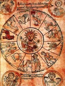 an early medieval jesus zodiac