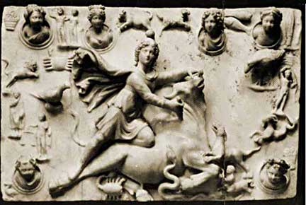 Mithras Slaying the Celestial Bull