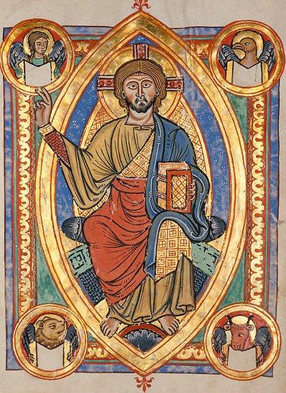 VESICA PISCIS - Página 2 Jesus-Pantocrator