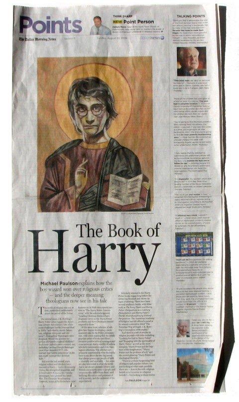 Jesus-Harry Potter Orthodox Icon Controversy Rocks Dallas