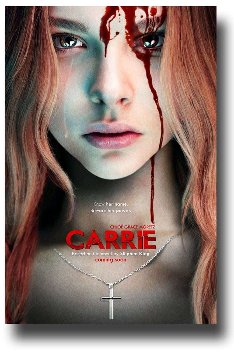 What I hated about the Carrie movie (if Jesus were Christian, he would have killed himself.)